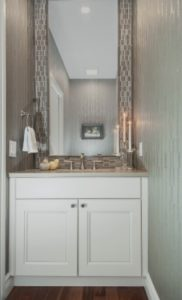 Realistic Design-Small powder room